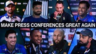 Make press conferences great again