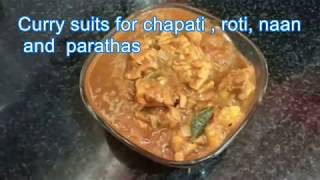 Chicken Curry with Creamy Potatoes Recipe