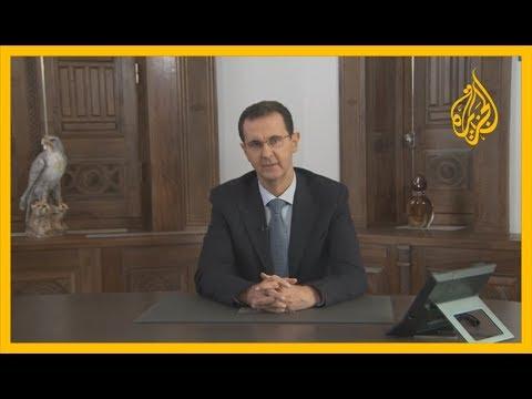 بشار الأسد: معركة تحرير حلب وإدلب مستمرة بغض النظر عن الفقاعات الصوتية الآتية من الشمال  - نشر قبل 3 ساعة