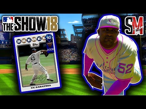 No Hitter! Diamond Career Arc CC Sabathia Debut! - MLB The Show 18 Gameplay