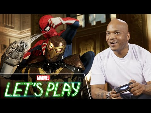 Styles P plays Marvel's Spider-Man on PS4   Marvel's Let's Play