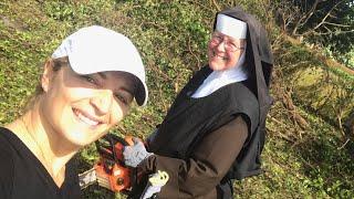 Watch Nun Use Chainsaw To Help With Hurricane Irma Clean Up