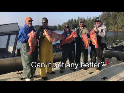 Salmon & Rock Fishing Calder Mountain Lodge, Point Baker Alaska, August 2019, Part 2