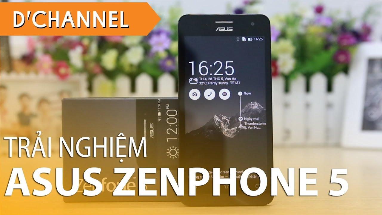ASUS ZENFONE 5 (A501CG) – Đánh giá nhanh