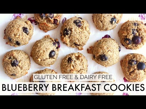 BLUEBERRY BREAKFAST COOKIES || gluten free + dairy free || ep. 1