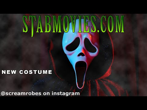 Our New #GhostFace #SCREAM #STAB Costume - Custom Ghostface Robe