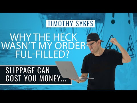 Why The Heck Wasn't My Order Ful-filled? Slippage Can Cost You Money…