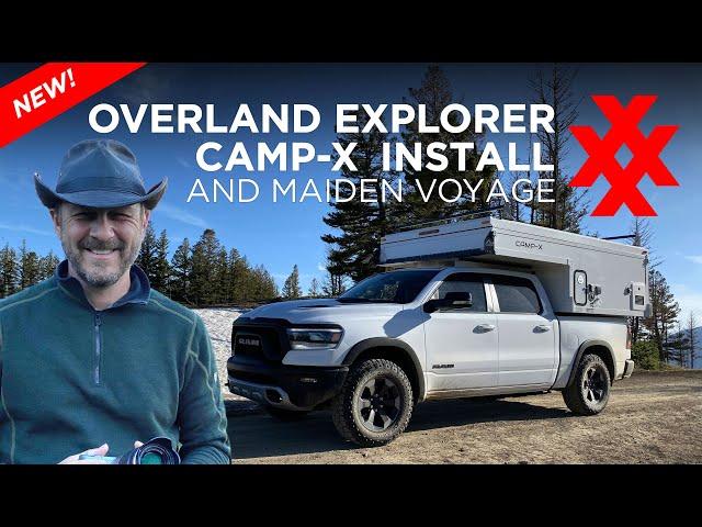 RAM 1500 Overland Explorer Camp-X Install - Maiden Voyage in Montana