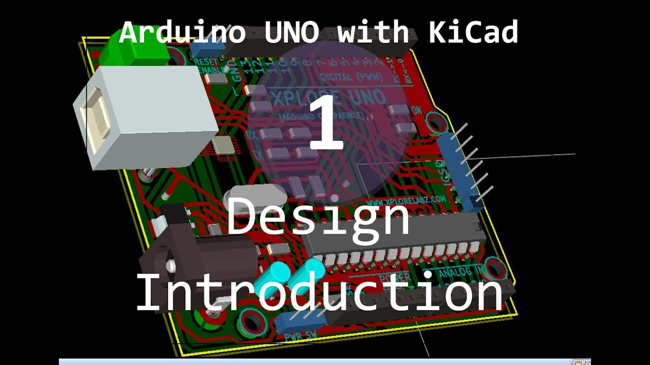 KiCAD: Advanced Tutorials:Arduino UNO with KiCAD - Tutorials
