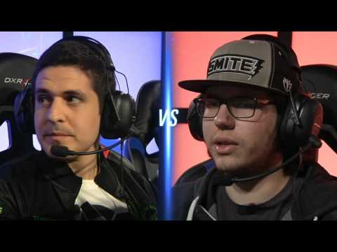 Cognitive Gaming vs Team Eager - Grand Finals Game 1 (MLG Smite Proleague Season 1 Finals)