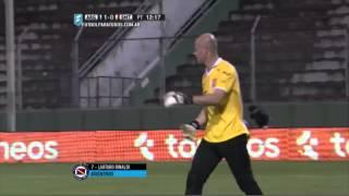 Gol de Rinaldi. Argentinos 1 - San Martín (T) 0. 32avos. Copa Argentina 2015. FPT.
