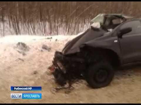В страшной аварии под Рыбинском погибли 4 человека