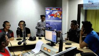 MAX 5 - NEVER BE HURT( LIVE Performance @ RRI World Service Voice of Indonesia RRI)