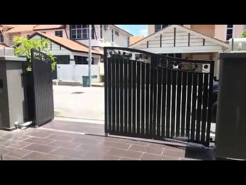 Pemasangan Auto Gate