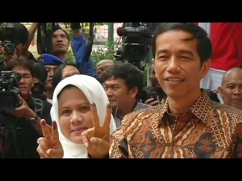 Counting underway in Indonesian presidential election