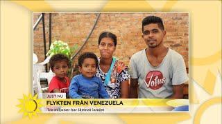 """Krisen i Venezuela: """"Barn är särskilt utsatta"""" - Nyhetsmorgon (TV4)"""