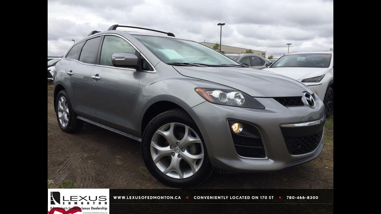 Pre Owned Silver 2011 Mazda CX 7 AWD GT In Depth Reivew | Lloydminster  Alberta   YouTube