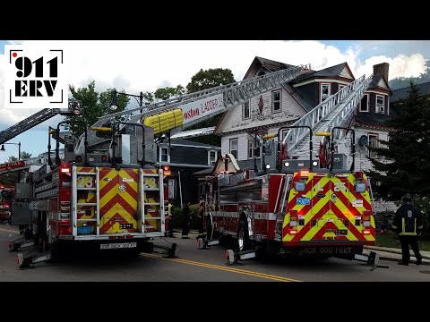 On Scene | Boston, MA Modified Four Alarm Fire in Hyde Park [Photos and Audio]