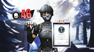 46 Kills Fortnite World Record   Solo vs Squad (Controller on PC)   Ghost Kamo