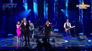 """Michael Learns To Rock feat  Expert """"The Actor"""" - Grand Final Rising Star Indonesia Eps 24"""