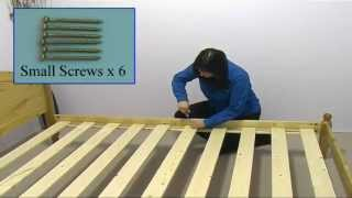 How to Assemble the Verona Design Pine Bed