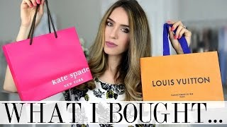 HIGH STREET & LUX HAUL | Louis Vuitton Return?!, Kate Spade & Lots of Shoes | Shea Whitney