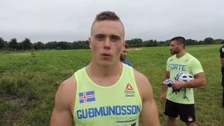 Bjorgvin Gudmundsson - 2017 CrossFit Games Heat Winner