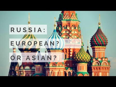 Is Russia in Europe or Asia ? GeoSir