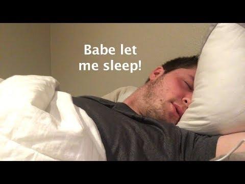 Boyfriend Roleplay  -  Annoying Your Boyfriend To Wake Up!