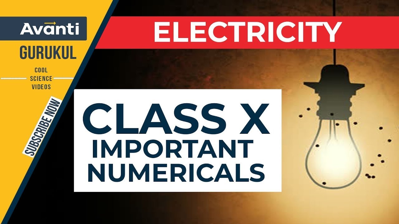Electricity Important Numericals Class 10 CBSE Boards