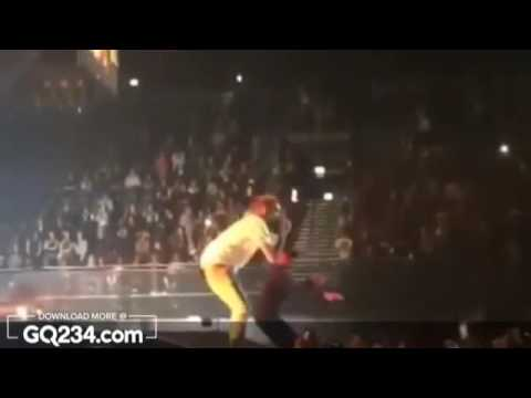 Wizkid and Chris Brown performs ''African Bad Girl'' at Amsterdam one Video