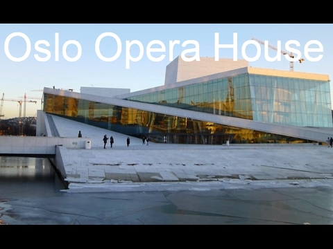 Oslo Opera House Building In Norway - Winter 2017, February - Quick Oslo Travel Guide