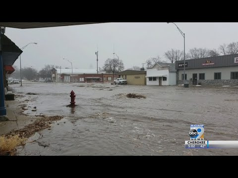 Driving in northeast Nebraska discouraged due to flooding