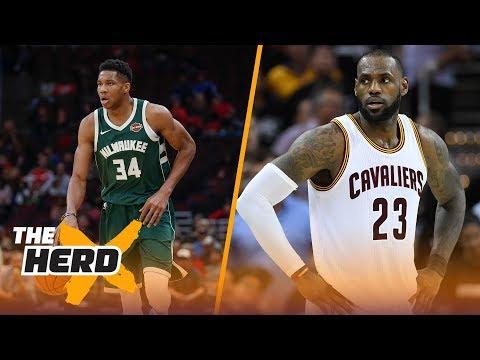 Giannis Antetokounmpo is not the next LeBron James | THE HERD