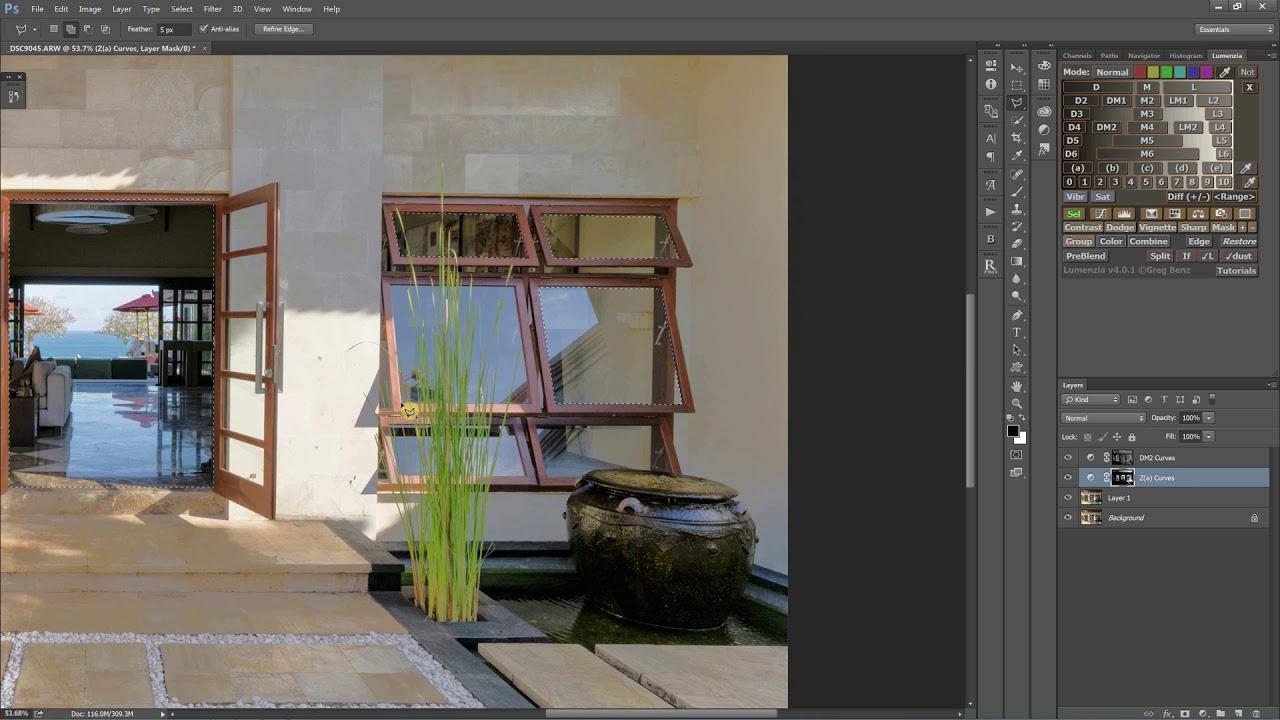 Lumenzia luminosity masking panel For Photoshop