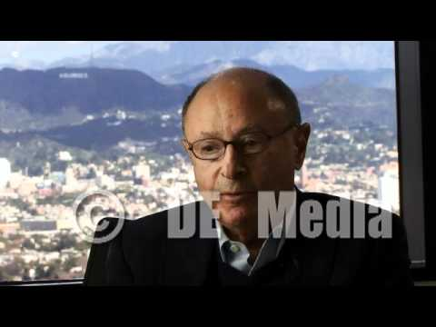 """Peter Bart talks about Hollywood from his """"Variety"""" office in 2011."""