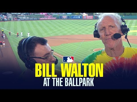 Bill Walton broadcast White Sox vs. Angels game and was nothing short of brilliant