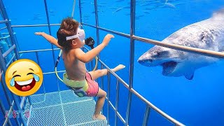 Animals Attacking Kids 😂Funniest Compilation 2021 #1 - Peoples vs Animals Fails | Laugh Virals