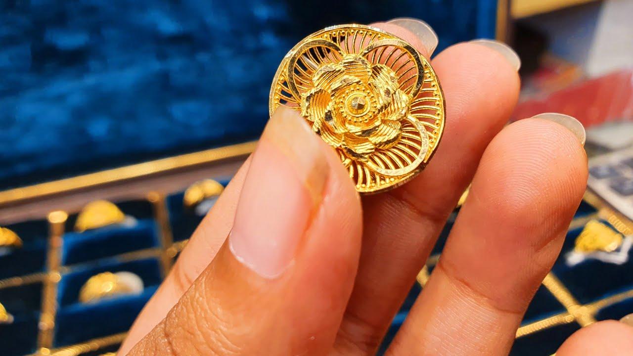 সোনার নজর কাড়া ডিজাইনের আংটি কালেকশন /finger ring