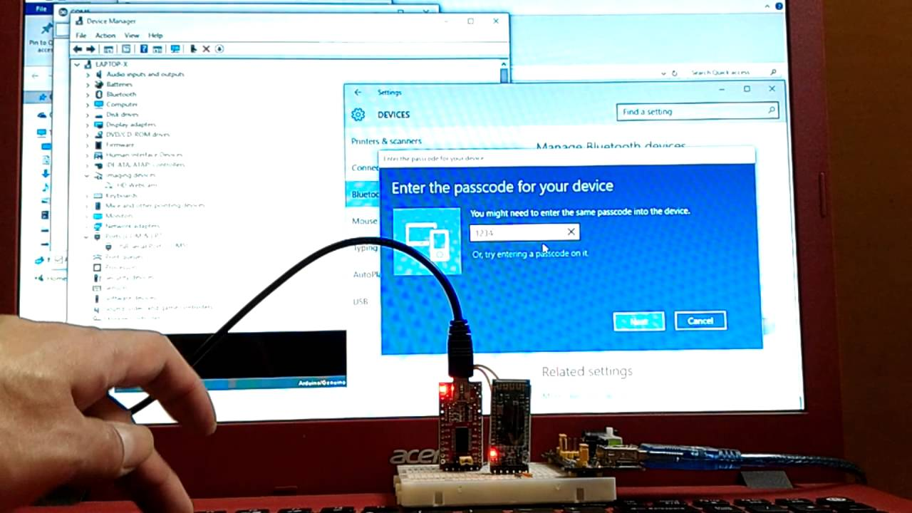 Arduino-er: First test HC-05 Bluetooth Module