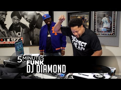 DJ Diamond | #5MinutesOfFunk007 | #TurntableTuesday97