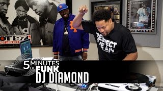 DJ Diamond | #5MinutesOfFunk | #TurntableTuesday97