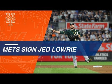 Jed Lowrie signs with Mets after career year