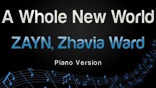 Zayn Zhavia Ward A Whole New World Piano Version.mp3