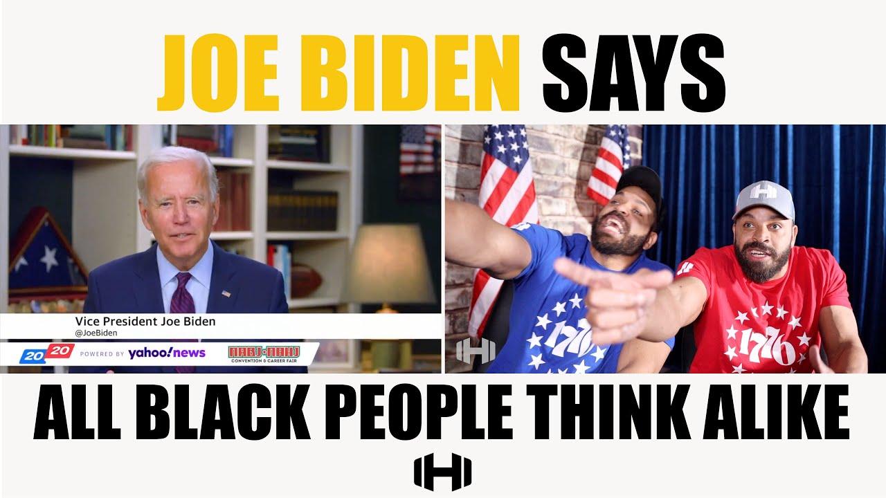 Joe Biden Says All Black People Think Alike