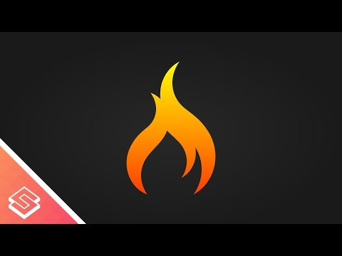 Inkscape Tutorial: Vector Flame Icon