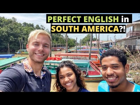 Perfect ENGLISH in SOUTH AMERICA?! 🇬🇾 (Guyana)