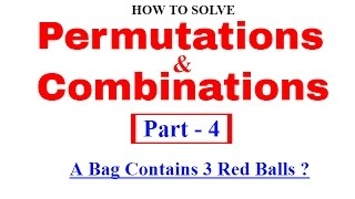 Permutations And Combinations Tricks for SBI & Bank PO [In Hindi] Part 4
