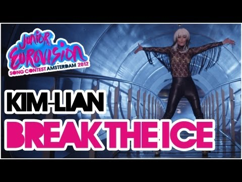 Kim-Lian - Break the Ice - Video Theme Song Junior Eurovision Song Contest 2012