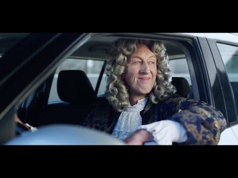 Isaac Newton protagoniza la campaña de lanzamiento de heycar